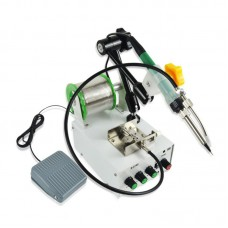 220V 60W Electric Soldering Machine Automatic Soldering Station Tin Auto Feed + Pedal S-3100