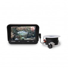 "Underwater Camera Fish Finder Underwater Fishing Camera HD 3MP 720P 140° w/4.3"" LCD 30M Cable X3"