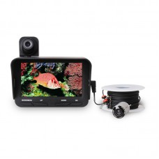 "Underwater Camera Fish Finder Fishing Camera Dual Cameras 2MP 140° w/4.3"" LCD 20M Cable X2B"