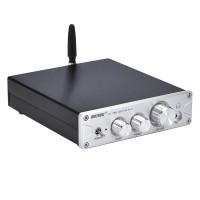 100W*2 Bluetooth HiFi Amplifier DAC Headphone Amplifier Amp Bluetooth 5.0 PA-01 Silver