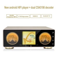 "HiFi Player DSD Player Dual Wifi w/8"" Touch Screen APP For Android Cellphone MX-Pro 64G without Decoder"