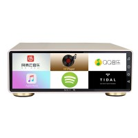 """2-In-1 Digital Audio Player USB Decoder w/ 8"""" Full Screen For Android 7.1 Balanced Output MX-2A Pro"""