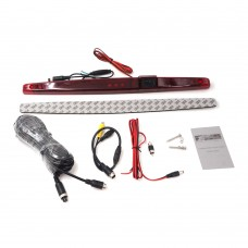 Universal Third Brake Light Camera Rear View Backup Camera with PAL/NSTC Switchable Function