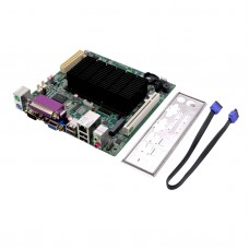 ITX-D525 Intel ATOM CPU D525 Motherboard INTEL MINI ITX POS ATM All in One Mainboard PCI Slot