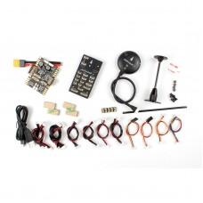 Pixhawk PX4 Flight Controller Kit Set Plastic Case 32Bit ARM RC Part with M8N GPS and Power Board