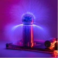 (No power supply)Super Mini Artificial Lightning Generator Mini Tesla Coil High Conversion Efficiency Scientific Experiments