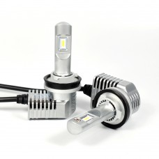 2pcs H8/H9/H11/H16 LED Headlight Bulbs H16 LED Bulbs 10400LM 6500K±500K 80W