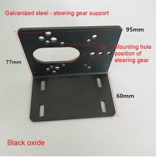 Servo Mounting Bracket Servo Mount Steel Plate with Screws For High Torque Servos