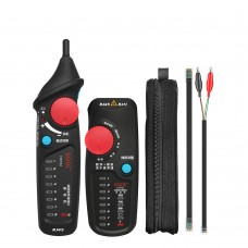 Analog & Digital Mode Network Ethernet Cable Tester Network Cable Tracker Line Finder For RJ45 RJ11