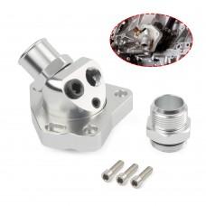 Swivel Thermostat Housing For K Series Engines K20 K24 Radiator Hose K Swap Silver