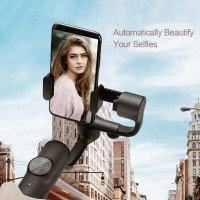 Zhizhuo P1 3-Axis Stabilized Plastic Handheld Gimbal Stabilizer for Iphone Huawei Xiaomi Smartphone
