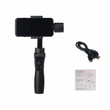 Zhizhuo S1 3-Axis Stabilized Plastic Handheld Gimbal Stabilizer for Samsung HUAWEI P10 Smartphones