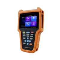 "IP Camera Tester HD CCTV Tester w/ 4"" IPS Touch Screen Support 8MP TVI/ 8MP CVI/ 8MP AHD V6-ADH"