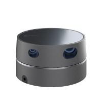 360° Lidar Sensor Scanner Laser Ranging Radar Module Detecting Radius 16M 8K/s LiDAR Delta3