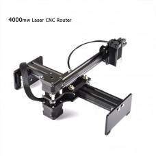 DIY Desktop 4000mW Mini USB CNC Router Laser Engraver Cutter Machine 17*22cm Area