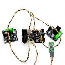Motor Controller Kit w/ Controller For Arduino + Bluetooth Module + 2 High-Power DC Motor Driver Board