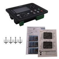 "DC62D Generator Controller for Diesel/Gasoline/Gas Genset Parameters Monitor 4.3"" Colorful Screen"