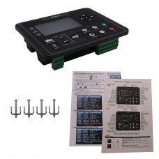 """DC62D Generator Controller for Diesel/Gasoline/Gas Genset Parameters Monitor 4.3"""" Colorful Screen"""