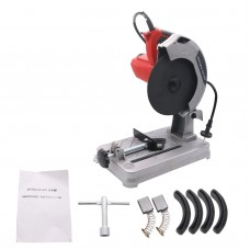 1200W Electric Cut Off Saw No-Load Speed 5200RPM for Cutting Wood Steel LW1201 220V Only