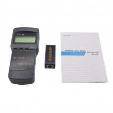 SC8108 RJ45 Network Cable Tester for LAN Phone Cable Meter w/ LCD Display