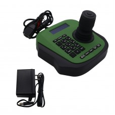 MY-C300 4D PTZ Keyboard Controller Joystick IP PTZ Controller w/ LCD Screen Voice Prompt Button Green