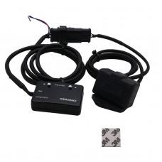 Universal Digital Boost Gauge PSI Turbo Boost Gauge Digital Display Blue LED -14 to 40 PSI YC101293