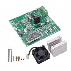 Lithium 18650 Battery Capacity Tester Internal Resistance Power Bank Storage Battery Test (Board+Fan)
