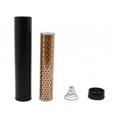 1/2-28 Fuel Filter Aluminum Low Profile for Napa 4003 Wix 24003 Fuel Filter