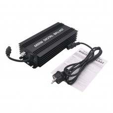 Digital 600W Ballasts for Garden Planter Grow Lights HPS MH Bulbs Electronic Dimmable EU PLUG