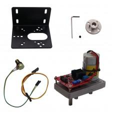 100kg/cm High Torque Servo Kit Steel Gear DC12V-24V with Potentiometer For Mechanical Arm Robot