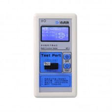 M328 Transistor Tester LCR Capacitor ESR Dot Matrix Graphics w/ 128*64 Chinese-English LCD Display
