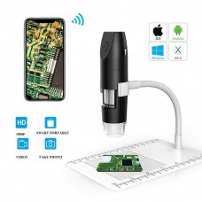 Maxgeek 200MP Digital Microscope Wireless WiFi 1000X USB Magnifier For IOS iPhone/Andriod