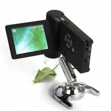 500X  3inch LCD Magnifier Portable Handheld Digital Microscope 5 Languages USB/AV Output
