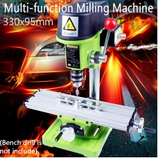 Multifunction Worktable Milling Working Table Milling Machine Desk Drill Vise Adjustment Coordinate table