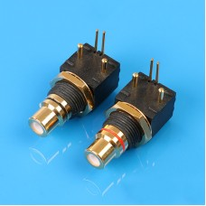 2pcs RCA PCB Mount with BNC Connector For DAC Players Decoder Digital Coaxial Input Output