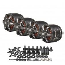 4x T-Motor Brushless Motor Long Shaft 1400KV For Small 3D Trainer Slider (AS2312 KV1400)