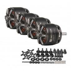 4x T-Motor 1050KV Brushless Motor Designed For Fixed Wing 20-30E 3D F3A (AS2814 KV1050)