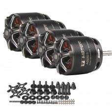 4pcs T-Motor Brushless Motor 1250KV Long Shaft For 20-30E 3D F3A Fixed Wing (AS2820 KV1250)