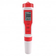 4-In-1 Water Tester Pen Water Quality Detector Pen Monitor For PH/TDS/EC/TEMP TPH01139