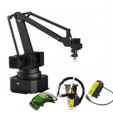 uArm Swift Pro Open Source Robot Arm + Suction Pump Kit + 3D Printing Kit + Laser Engraving Kit