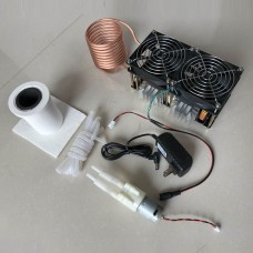 1800W ZVS Induction Heater Main Board + Heating Coil + Crucible + Water Pump + Pump Power Supply