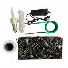 ZVS Induction Heater 2500W Main Unit + Heating Coil + Fan Power Supply + Crucible + Water Pump