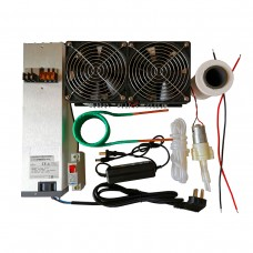 ZVS Induction Heater 2500W Main Unit+Coil+Fan Power Supply+Crucible+Water Pump+DC48V Power Supply