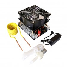 4000W ZVS Induction Heater Main Unit + Heating Coil + Water Pump + Pump Power Supply