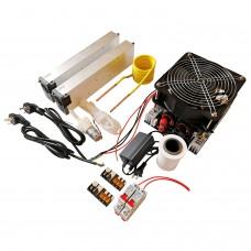 4000W ZVS Induction Heater Main Unit+Coil+Pump+Pump Power+70mL Crucible+2 Power Supply+Air Switch