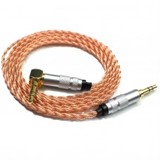 Earphone Upgrade Cable For MSR7 SR5 Sony 1A WH1000XM2 100AAP ABN (Single Crystal Copper 6-Strand)