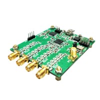 AD9959 4-Channel DDS Module RF Signal Generator AT Commands Serial Output Frequency Sweep AM