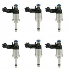 6x 12638530 Fuel Injectors For GM Chevrolet Camaro Traverse GMC Acadia CTS 3.6L 12669384