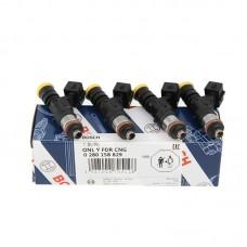4pcs 0280158829 0280158830 High Impedance Fuel Injectors 210LB For Honda Mazda Dodge Toyota