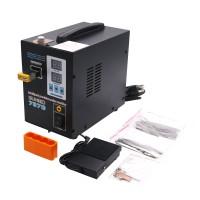 737G Spot Welder 110V 1.5KW Welding Machine LED Light for 18650 Battery Pack